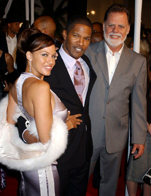 Premiere: Leila Arcieri, Jamie Foxx and director Taylor Hackford at the Hollywood premiere of Universal Pictures' Ray - 10/19/2004