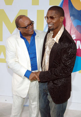 Quincy Jones and Jamie Foxx MTV Video Music Awards 2005 - Arrivals - 8/28/05