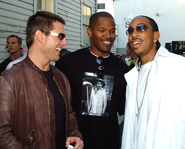 Tom Cruise, Jamie Foxx and Ludacris MTV Movie Awards - 6/5/2004