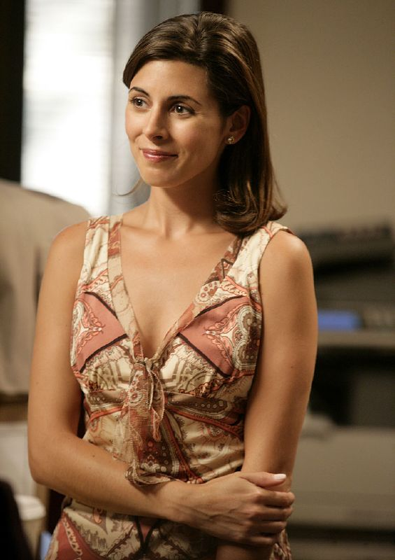 Jamie-Lynn Sigler stars as Meadow Soprano in The Sopranos on HBO.