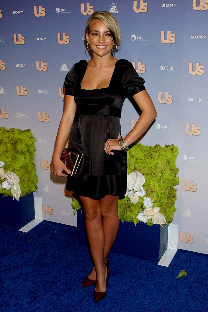 Jamie Lynn Spears arrives at the US Weekly Hot Hollywood party at Opera on September 26, 2007.