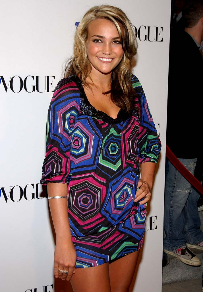 Jamie Lynn Spears arrives at the Teen Vogue young Hollywood party held at Vibiana on September 20th, 2007.
