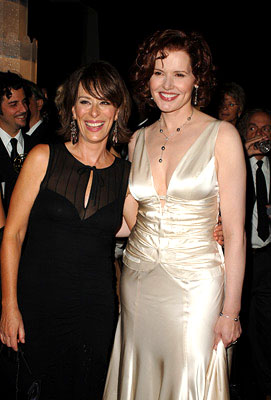 Jane Kaczmarek and Geena Davis Governor's Ball Emmy Awards - 9/18/2005