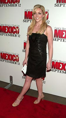 Premiere: Jane Krakowski at the New York premiere of Columbia's Once Upon a Time in Mexico - 9/7/2003