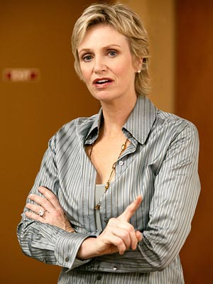 "Jane Lynch as Victoria Ratchford Lifetime's ""Lovespring International"""
