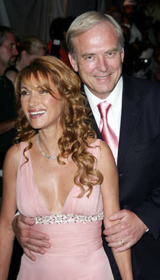 Premiere: Jane Seymour and James Keach at the New York premiere of New Line Cinema's Wedding Crashers - 7/13/2005
