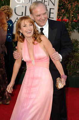 James Keach and Jane Seymour 63rd Annual Golden Globe Awards - Arrivals Beverly Hills, CA - 1/16/05