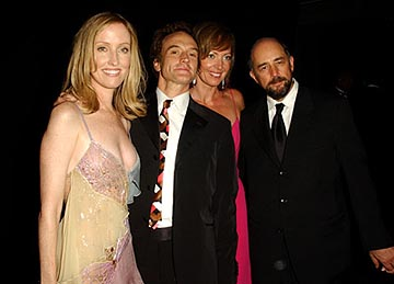 Janel Moloney, Bradley Whitford, Allison Janney, Richard Schiff The Governor's Ball 55th Annual Emmy Awards After Party - 9/21/2003