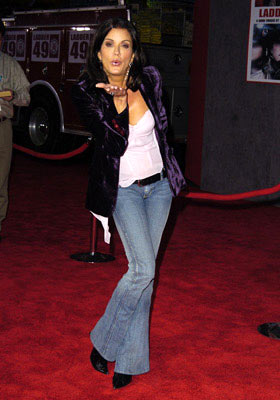 Premiere: Janice Dickinson at the Hollywood premiere of Touchstone Pictures' Ladder 49 - 9/20/2004