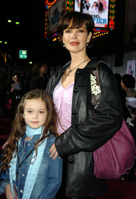 Premiere: Janine Turner and daughter at the Hollywood premiere of Walt Disney Pictures' The Pacifier - 3/1/2005