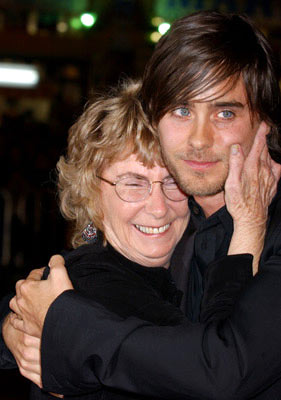 Premiere: Jared Leto and his grandmother at the Hollywood premiere of Warner Bros. Alexander - 11/16/2004