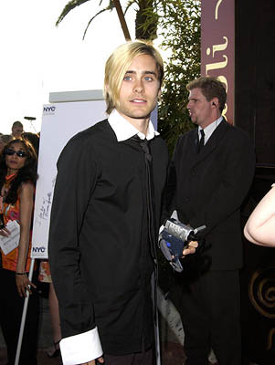 Jared Leto Gangs of New York Premiere Cannes Film Festival - 5/20/2002