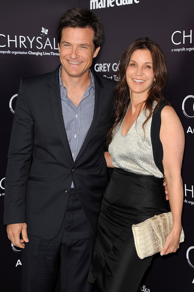 Jason Bateman and Amanda Anka arrive at the 10th Annual Chrysalis Butterfly Ball at a private residence on June 11, 2011 in Los Angeles, California.