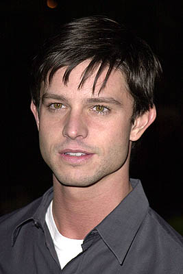 Premiere:  Jason Behr at the Los Angeles premiere of Paramount Classics' The Gift - 12/18/2000