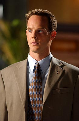 Jason Gray-Stanford as Lt. Randall Disher Monk on USA Network