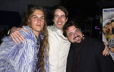 Premiere: Jason Mewes, Jason Lee and Kevin Smith at the Westwood premiere of Dimension's Jay and Silent Bob Strike Back - 8/15/2001