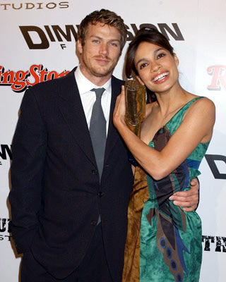 Premiere: Jason Lewis and Rosario Dawson at the Westwood premiere of Dimension Films' Sin City - 3/28/2005