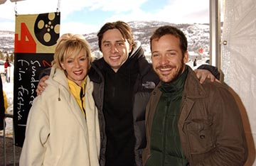 "Jean Smart, Zach Braff and Peter Sarsgaard ""Garden State"" - 1/16/2004 Sundance Film Festival"
