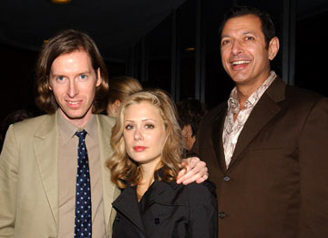 Premiere: Director Wes Anderson, Tara Subkoff and Jeff Goldblum at the Los Angeles screening of Touchstone Pictures' The Life Aquatic with Steve Zissou - 11/20/2004