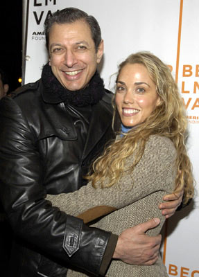 "Jeff Goldblum and Elizabeth Berkley ""Special Thanks to Roy London: premiere - Tribeca Film Festival April 23, 2005 - New York, NY"