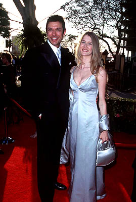 Jeff Goldblum and Laura Dern 68th Academy Awards Los Angeles, CA 3/25/1996