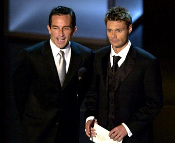 Jeff Probst, Ryan Seacrest 55th Annual Emmy Awards - 9/21/2003