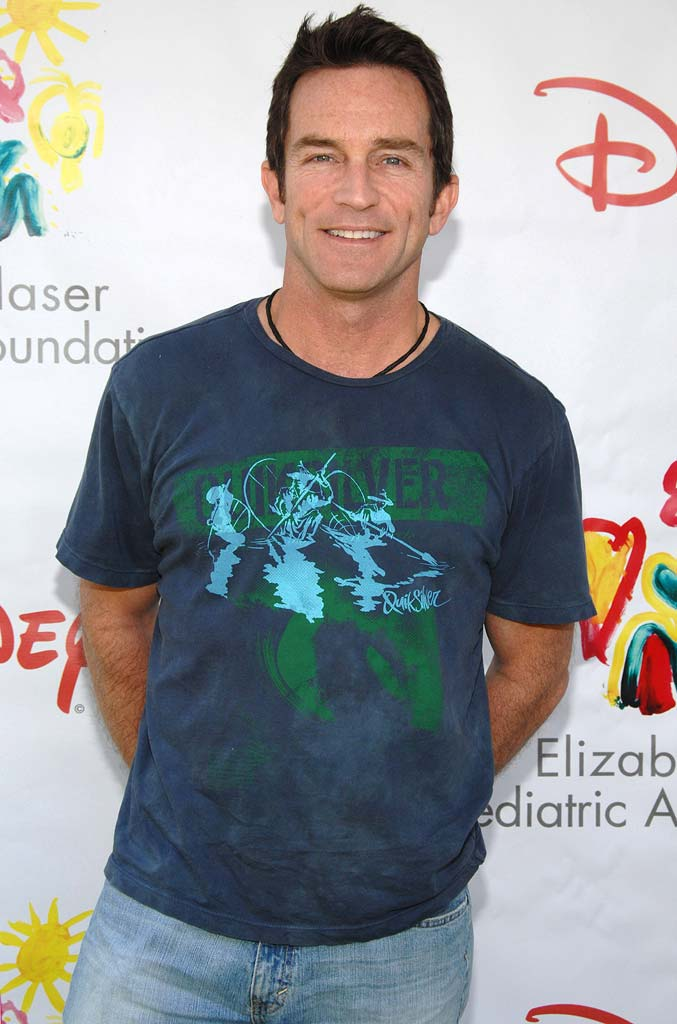 "Jeff Probst at ""A Time For Heroes"" Sponsored by Disney to Benefit the Elizabeth Glaser Pediatric AIDS Foundation."