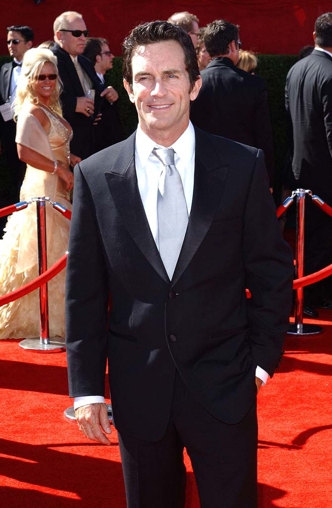 Jeff Probst at the 58th Annual Primetime Emmy Awards.