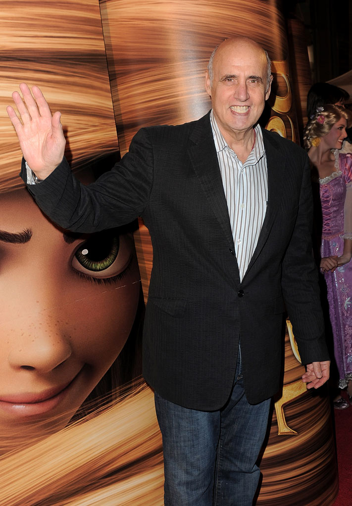 "Jeffrey Tambor arrives at the ""Tangled"" Los Angeles Premiere at the El Capitan Theatre on November 14, 2010 in Hollywood, California."