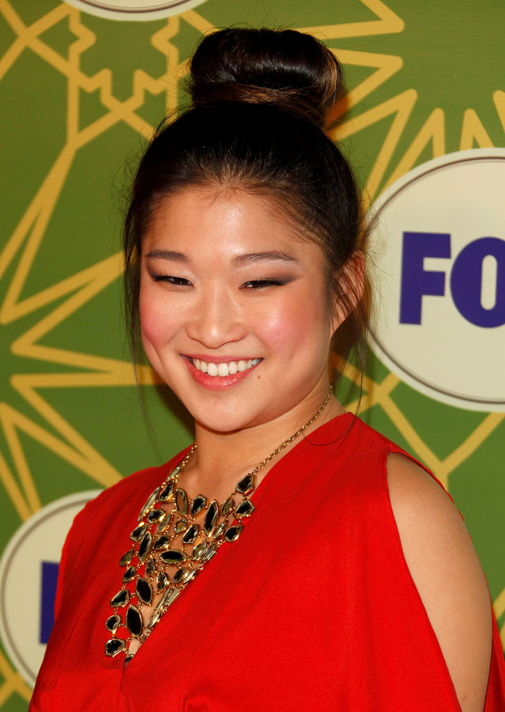 "Jenna Ushkowitz (""Glee"") attends the 2012 Fox Winter TCA All-Star Party at Castle Green on January 8, 2012 in Pasadena, California."