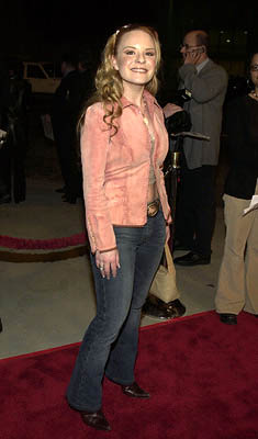 Premiere: Jenna Von Oy at the Hollywood premiere of Artisan's National Lampoon's Van Wilder - 4/1/2002