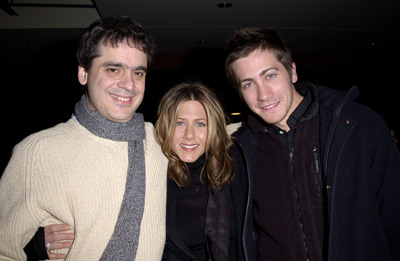 Miguel Arteta, Jennifer Aniston and Jake Gyllenhaal The Good Girl premiere Sundance Film Festival 1/12/2002