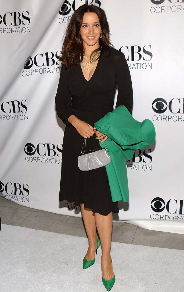 Jennifer Beals at the CBS/Paramount/UPN/Showtime/King World 2006 TCA Winter Press Tour Party.