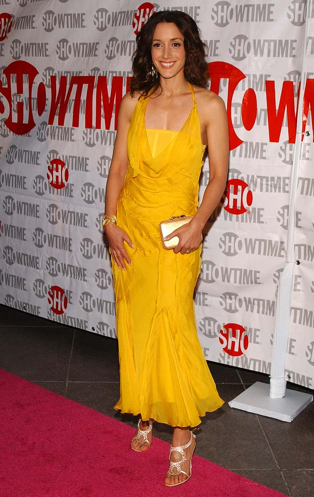 "Jennifer Beals at ""The L Word"" Showtime Network's Second Season Premiere."