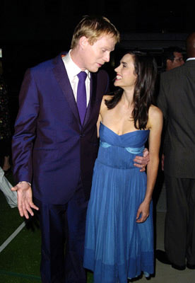 Premiere: Paul Bettany and Jennifer Connelly at the Beverly Hills premiere of Universal Pictures' Wimbledon - 9/13/2004