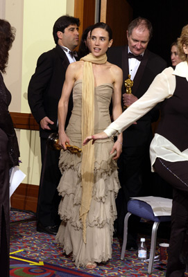 Jennifer Connelly and Jim Broadbent Best Supporting Actress and Actor 74th Academy Awards Hollywood, CA 3/24/2002