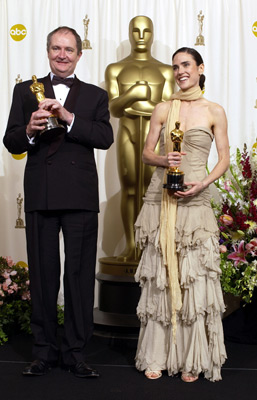 Jim Broadbent and Jennifer Connelly Best Supporting Actor and Actress 74th Academy Awards Hollywood, CA 3/24/2002