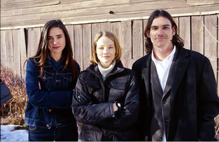 "Jennifer Connelly, Producer Jodie Foster and Billy Crudup of ""Waking The Dead"" January 22, 2000 Sundance Film Festival Randall Michelson, Wireimage.com - Photo"