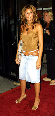 Premiere: Jennifer Esposito at the New York premiere of Artisan's Made - 7/10/2001
