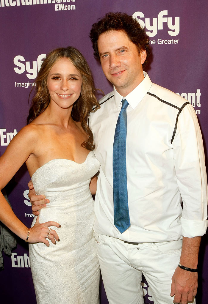 Jennifer Love Hewitt and writer/actor Jamie Kennedy attend Entertainment Weekly's Syfy Party during Comic-Con 2009 held at Hotel Solamar on July 25, 2009 in San Diego, California.