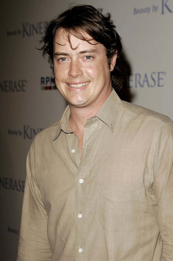 Jeremy London at the Fundraiser for The EB Medical Research Foundation, hosted by Courteney Cox and Kinerase.