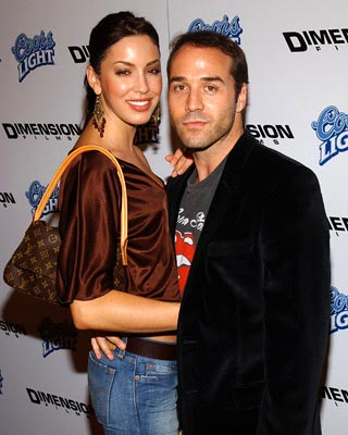 Premiere: Jeremy Piven and galpal at the LA premiere of Dimension's Scary Movie 3 - 10/20/2003