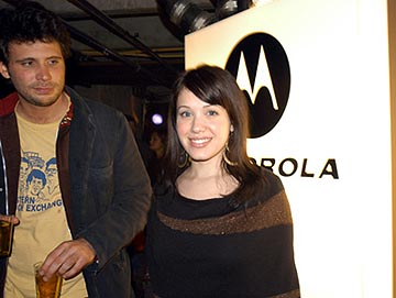 "Jeremy Sisto of ""One Point O"" and Marla Sokoloff of ""Home of Phobia"" 1/18/2004 Sundance Film Festival"