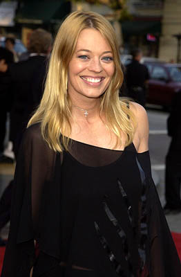 Premiere: Jeri Ryan at the LA premiere of Paramount's The Sum of All Fears - 5/29/2002