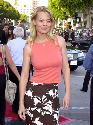 Premiere: Jeri Ryan at the Westwood premiere of Paramount's Lara Croft: Tomb Raider - 6/11/2001