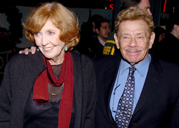 Premiere: Anne Meara and Jerry Stiller at the Los Angeles premiere of Universal Pictures' Meet the Fockers - 12/16/2004