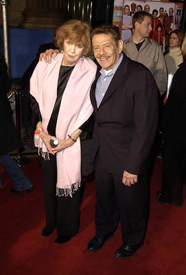 Premiere: Anne Meara and Jerry Stiller at the Hollywood premiere of The Royal Tenenbaums - 12/6/2001