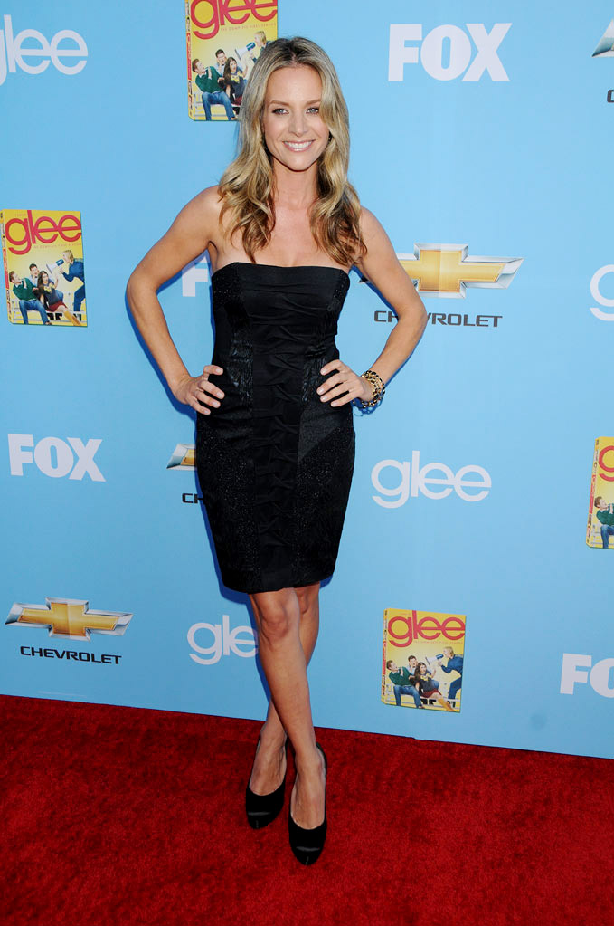 "Jessalyn Gilsig attends the ""Glee"" Season 2 Premiere Screening and DVD Release Party at Paramount Studios on September 7, 2010, in Hollywood."