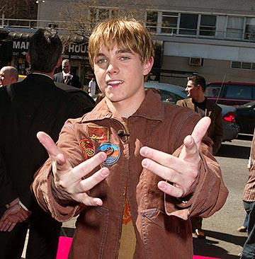 Premiere: Jesse McCartney at the New York premiere of Miramax's Ella Enchanted - 3/28/2004