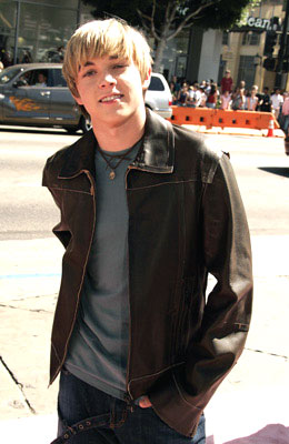 Premiere: Jesse McCartney at the Hollywood premiere of Warner Brothers' A Cinderella Story - 7/10/2004